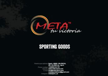 Catalogue Meta Sport 2021